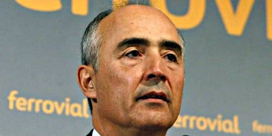 Rafael del Pino: Ferrovial amortizará las 11,7 millones de acciones propias