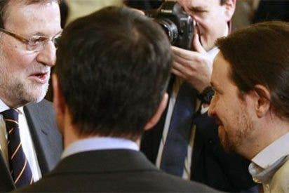 """Pablo Iglesias airea que Rajoy le saludó con un """"vais muy bien"""" en las encuestas"""
