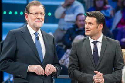 Mariano Rajoy triunfa sin despeinarse en el plató de Podemos