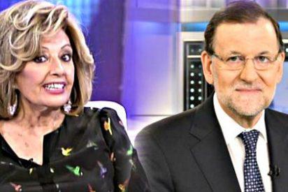 Mariano Rajoy da unos pases a María Teresa Campos y clava el estoque a Pedro Sánchez
