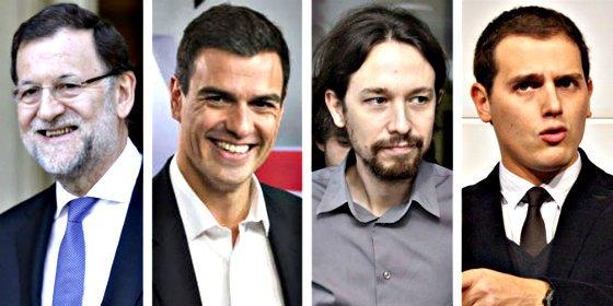 ¿Quién ganó el debate de Pedro Sánchez, Albert Rivera y Pablo Iglesias?... ¡Mariano Rajoy!