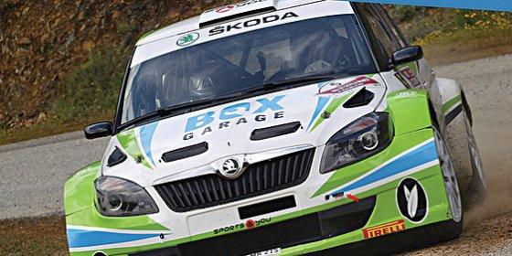 Quijada y Canelo competirán en el Rallye Villa de Ourique en Portugal