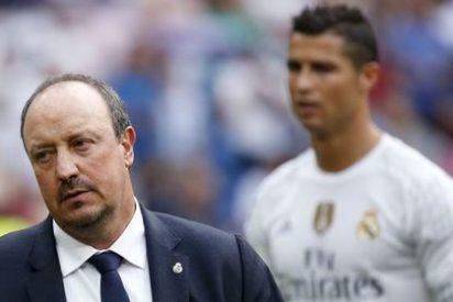 Rafa Benítez le dice a Florentino Pérez que está 'hasta las pelotas' de Cristiano Ronaldo y James