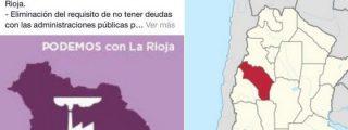 Podemos pierde el norte: confunde La Rioja de España con la de Argentina y le dan 'pasaporte'