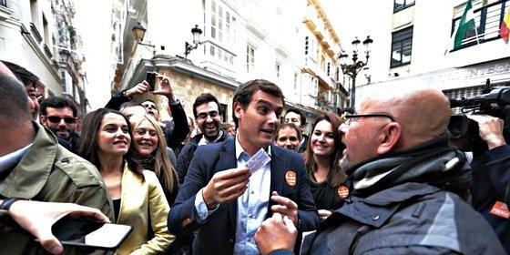 El altercado de Albert Rivera en Cádiz enciende las alarmas en Ciudadanos