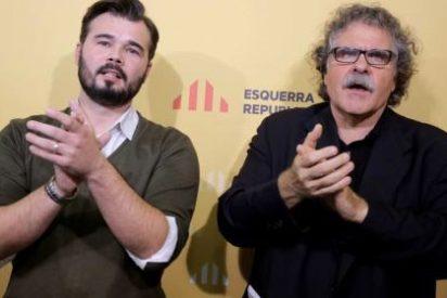 El independentista Rufián dejó el trabajo para cobrar del paro