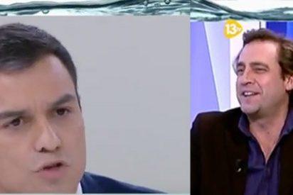 El asesor del PSOE Luis Arroyo, emocionado con el 'triunfo' de Sánchez en el debate