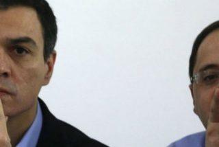 Sánchez desafía a sus barones y deja abierta la puerta a pactar con Podemos e IU