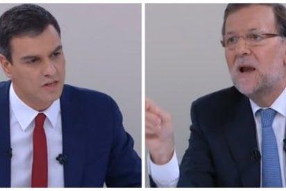 Rajoy pulveriza a un marrullero Sánchez