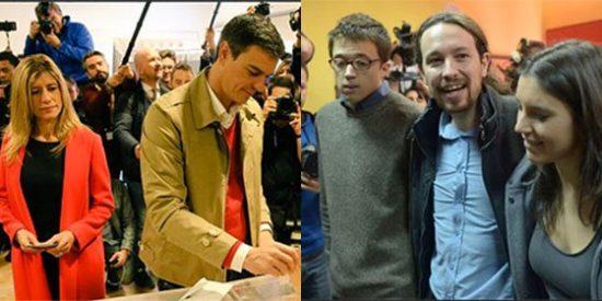 Sánchez, en manos de Podemos y de los nacionalistas para poder llegar a la Moncloa