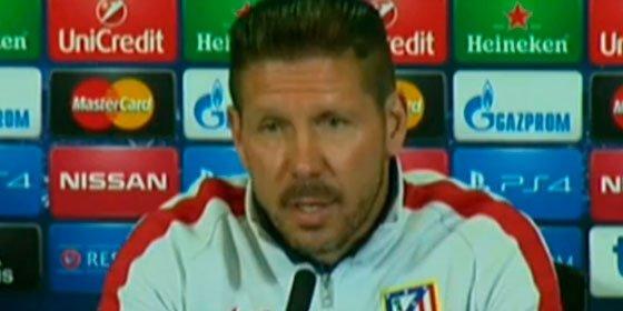 """Cholo Simeone: """"Ya llegará el gol de Torres"""""""