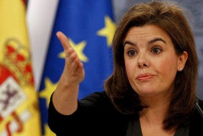 Hay más interés por la presencia de Soraya que la que hubiera despertado Rajoy en carne mortal