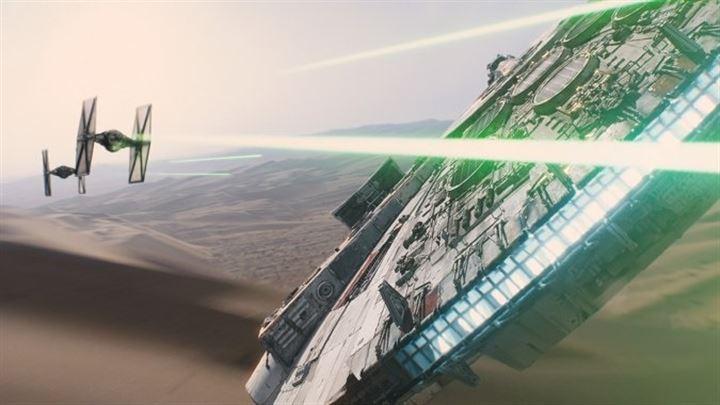 Star Wars Episodio VII: Electroencefalograma plano