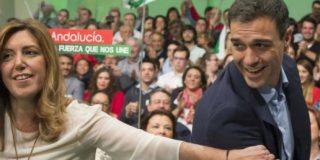 El desplome de Pedro Sánchez deja su cabeza en manos de Susana Díaz