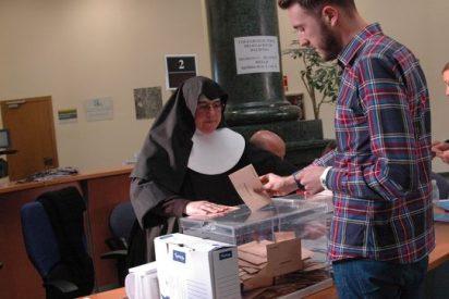 Una monja presidió una mesa electoral en Teruel