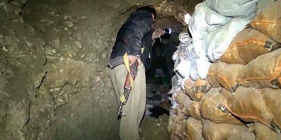 ¿Qué han hallado en los túneles secretos del Estado Islámico en Irak?