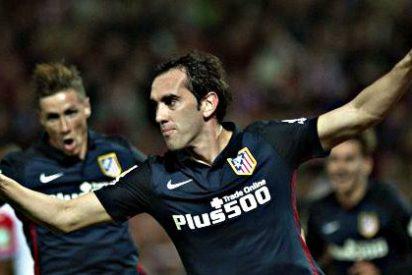 Abrió Godin, Griezmann puso la puntilla y el Atlético Madrid gana al Granada 0-2