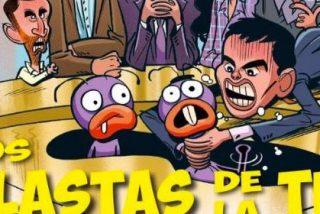 'El Jueves' se 'engancha' a la Monedero-basura y saca a Albert Rivera con la 'cocaína'
