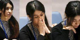 """El brutal relato en la ONU de una esclava sexual del """"monstruoso"""" ISIS"""