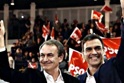 Y para terminar de fastidiarla, Sánchez reivindica el legado de Zapatero