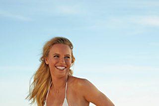 Una de las tenistas más deseadas... ¡se exhibe en bikini!