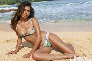 Irina nos deja boquiabiertos bajándose la parte de abajo del bikini hasta el límite