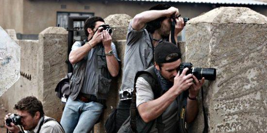 Fotógrafos en la guerra