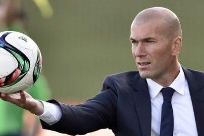 A los jugadores del Real Madrid les han puesto los Reyes Magos un regalo: Zidane