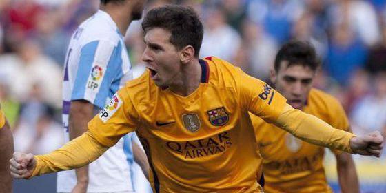 Leo Messi acuesta líder al Barça: Málaga 1 - FC Barcelona 2