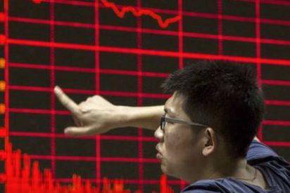 Las bolsas chinas retoman los descensos y cierran con caídas superiores al 5%