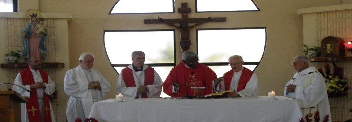 """Francisco anima a los sacerdotes de la OCSHA a """"intensificar el espíritu misionero"""""""