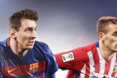 Duelo en la cumbre de la Liga entre Barça y Atlético de Madrid