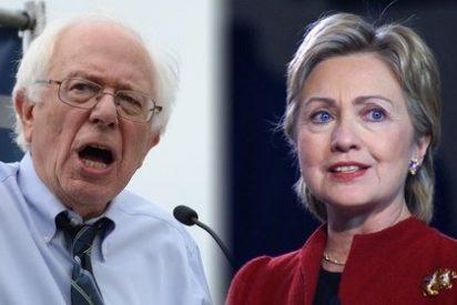 Hillary Clinton y Bernie Sanders se tiran de los pelos en el último debate demócrata antes de las primarias