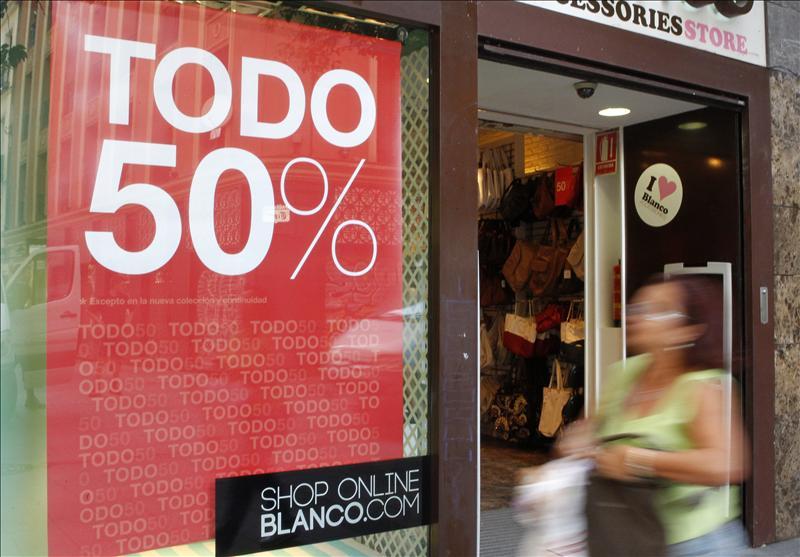Las rebajas de la recuperación: un incremento de ventas del 5% y creación de 80.000 empleos