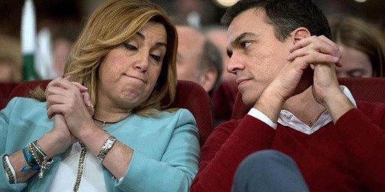 """Susana Díaz tras entrevistarse con Pedro Sánchez: """"Estoy para que el PSOE sea un instrumento útil"""""""