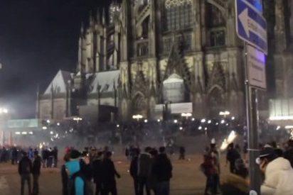 Un millar de 'salidos' musulmanes atacaron sexualmente a chicas en Colonia durante esta Nochevieja