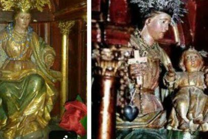 Roban el Niño Jesús que acompaña a la Virgen del Rosario de Valencina