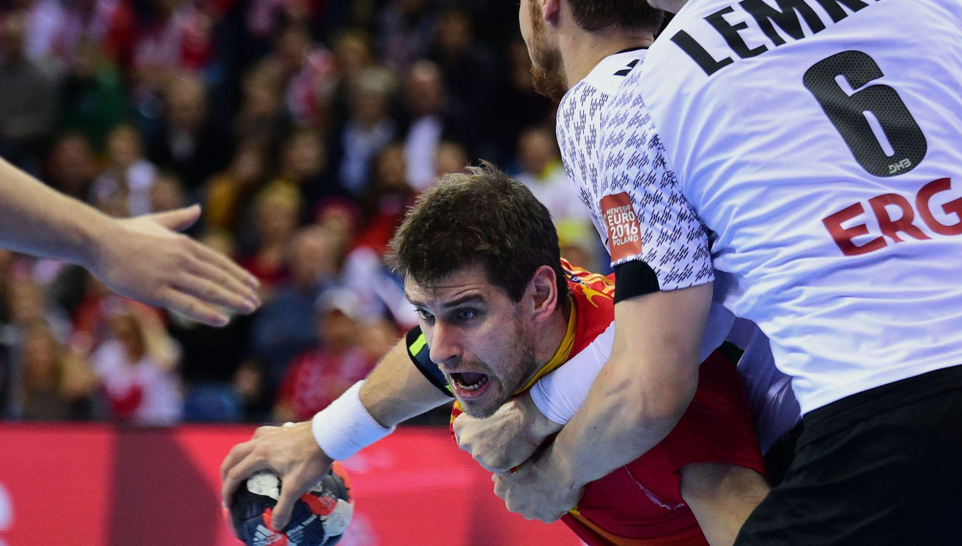 España cae (24-17) ante Alemania y se queda sin oro ni billete a los Juegos de Río