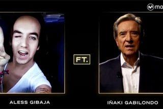 Surrealismo absoluto: Iñaki Gabilondo imita a Aless Gibaja en el nuevo programa de Buenafuente