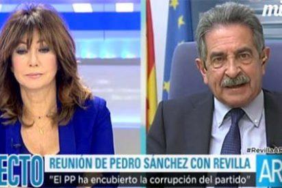 La bufonada de Revilla pasa al siguiente nivel: imitar a Rajoy para conseguir unas risas en televisión