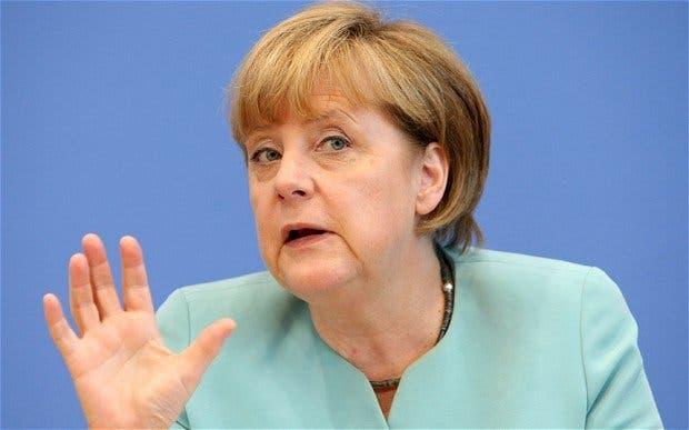 Angela Merkel: Fráncfort se convierte en el mayor depósito de oro del Bundesbank