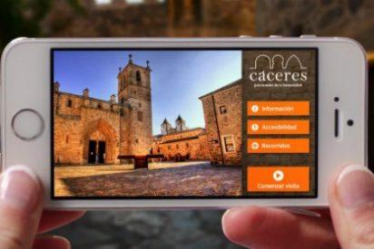 Cáceres estrena una app turística accesible