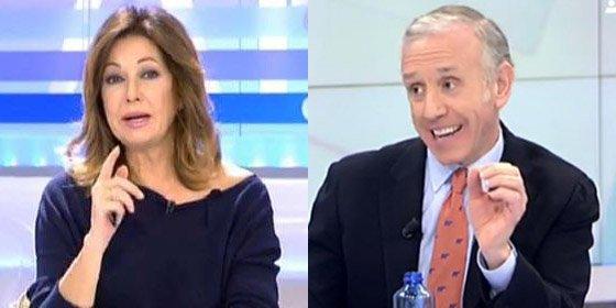 """Ana Rosa e Inda sacuden a Iglesias por atacar a una periodista con su forma de vestir: """"Es machista, fascista e intolerable"""""""