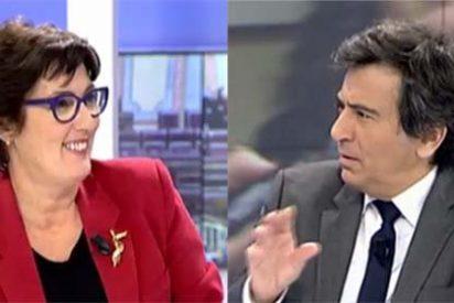 """Arcadi se harta de la alegría podemita de Montse Domínguez: """"Iglesias revela un estigma totalitario, su entrada al Congreso es una pésima noticia"""""""