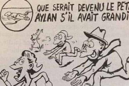 La vomitiva portada de Charlie Hebdo aprovechando las violaciones de Colonia