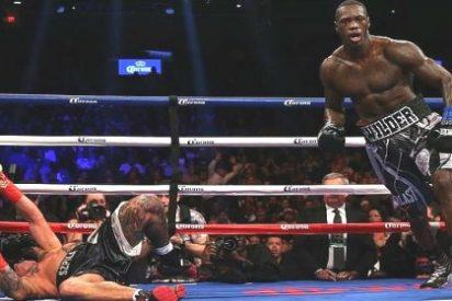 El salvaje KO de Deontay Wilder que mandó a su rival de cabeza al hospital