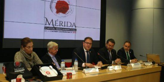 Mérida presenta las actividades de 2016 como Capital Iberoamericana de la Cultura Gastronómica