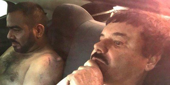 La misteriosa modelo semidesnuda que acompañaba al 'Chapo' Guzmán
