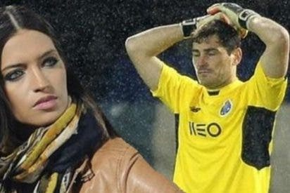 Increpan a Sara Carbonero tras los errores de Casillas