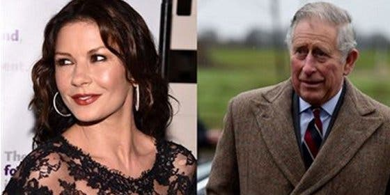 ¿Tuvieron el príncipe Carlos de Inglaterra y Catherine Zeta-Jones un affair?